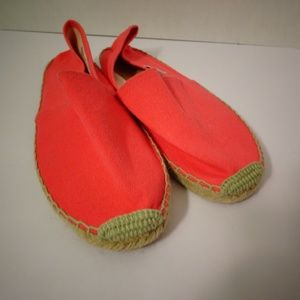 SOLUDOS Espadrilles Flats Shoes Neon Pink